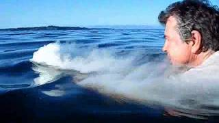 Swimming with Dry Ice