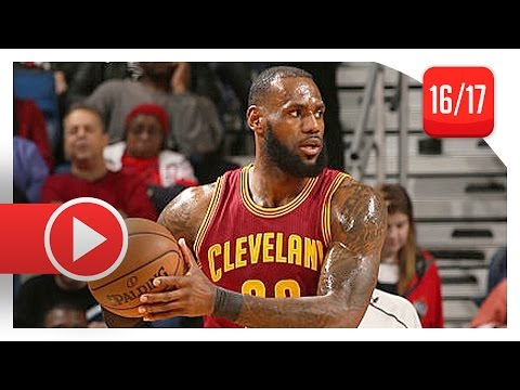 LeBron James Triple-Double Highlights vs Pelicans (2017.01.23) - 26 Pts, 12 Ast, 10 Reb