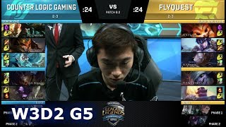 Video CLG vs FlyQuest | Week 3 Day 2 of S8 NA LCS Spring 2018 | CLG vs FLY W3D2 G5 MP3, 3GP, MP4, WEBM, AVI, FLV Juni 2018