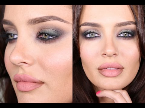 Download Date Night Smokey Eye w Green & Maroon Accents! Talk Through Tutorial! HD Mp4 3GP Video and MP3