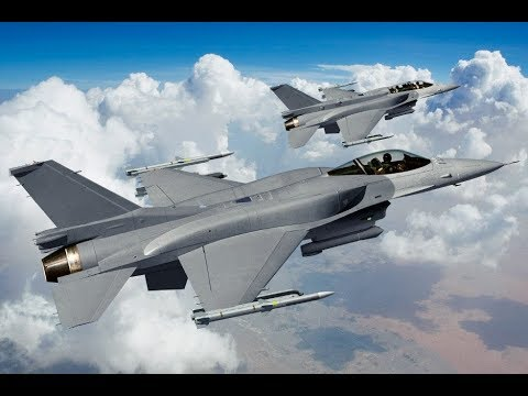 The General Dynamics F-16 Fighting...