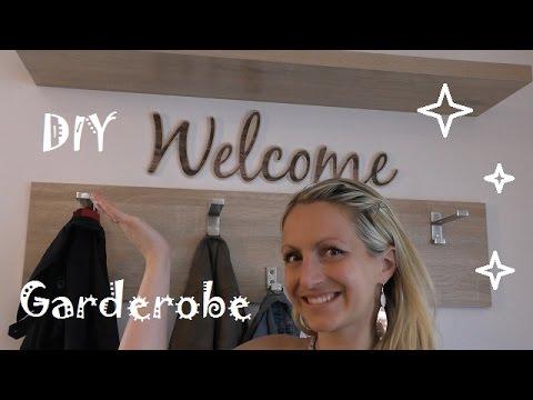 DIY Wir bauen uns eine Garderobe!  - How to build a wardrobe!