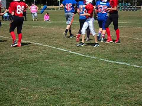 Middleschool Football Jamboree; Bellows Falls, Claremont and Hartford