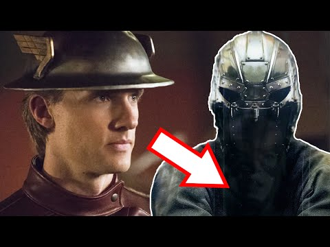 Jay Garrick Is The Man In The Mask? - The Flash Season 2