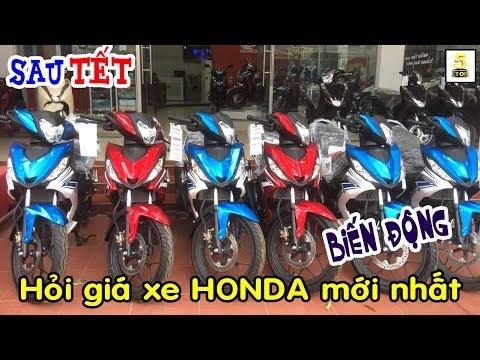 Sau TẾT Đi Hỏi Giá Xe HONDA Tháng 2/2019 ▶️ Giá Xe Honda Biến Động