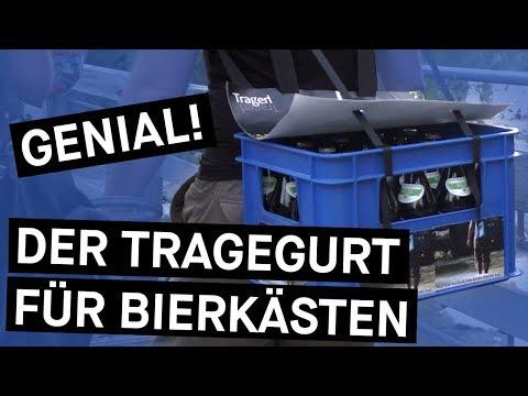 Den Bierkasten wie einen Rucksack tragen - mit TragerlTragerl || Bavarian Makers