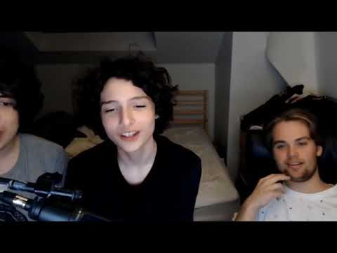 Stranger Things Finn wolfhard stream funny and singing
