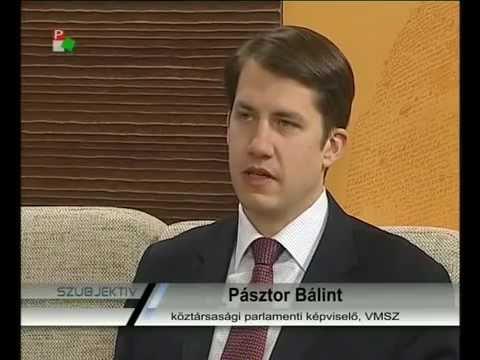 Szubjektív - Pásztor Bálint-cover