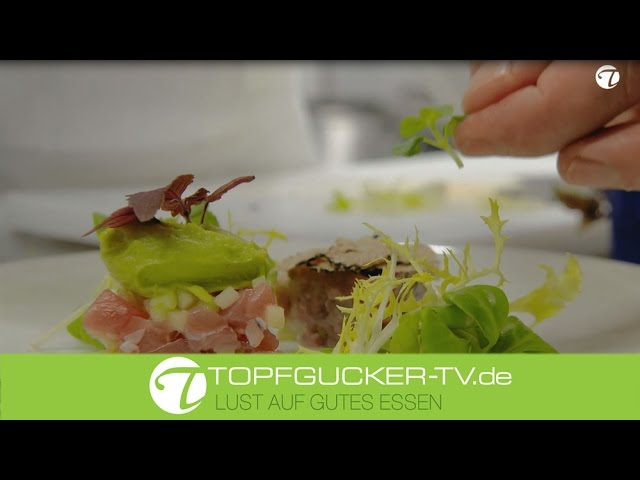 Zweierlei Tatar von Thunfisch & Kalb mit Trüffel und Avocado   Rezeptempfehlung