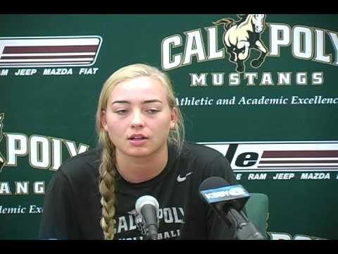 Cal Poly Outside Hitter Adlee Van Winden