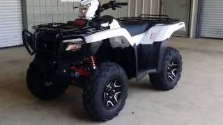 4. 2016 Honda Foreman Rubicon 500 DELUXE DCT / EPS ATV - WALK AROUND VIDEO : TRX500FA7G