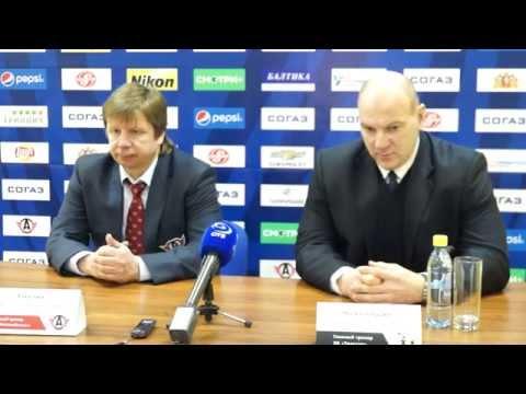 Пресс-конференция: Анатолий Емелин, Андрей Николишин