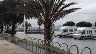 Hondarribia Spain  City pictures : Club Motorhome Aire Videos - Hondarribia Beach, Basque Country, Spain