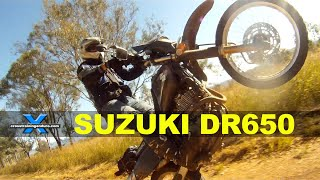 2. SUZUKI DR650 - THE WORLD'S BEST BIKE