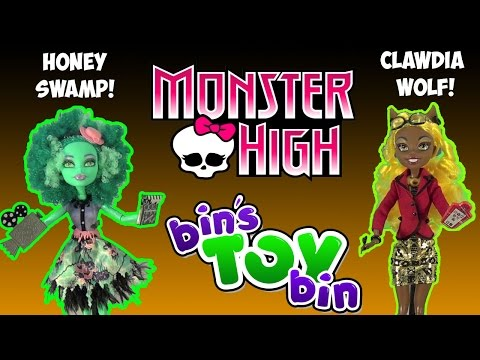 Bin - Our Halloween 2014 season kicks off with reviews of Monster High Frights Camera Action - Honey Swamp and Clawdia Wolf! Be sure to stay tuned all October for lots more Halloween fun with more...