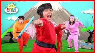 Ryan Ninja Family Kids Song (Official Video)