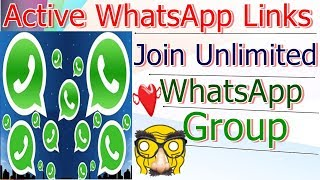 Video Join Unlimited WhatsApp Group | Active WhatsApp Groups Links | Join Whatsapp MP3, 3GP, MP4, WEBM, AVI, FLV September 2018