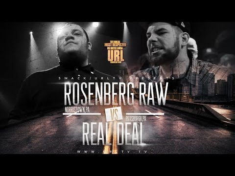 Video: Real Deal vs Rosenberg Raw