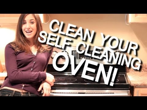 How to Clean a Self-Cleaning Oven