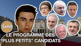 Video Le programme des 6 autres candidats (Poutou, Asselineau, Lassalle...) - 5 minutes pour décrypter MP3, 3GP, MP4, WEBM, AVI, FLV Juni 2017