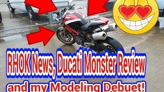 10. Fireguy24: Ducati Monster 1100s review and ride
