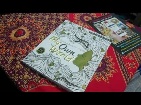 Review Coloring Book For Adult My Own World Indonesia