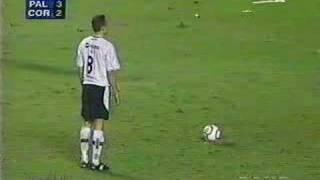 Penaltis Palmeiras X Corinthians Libertadores 2000  Marcos pega penalti do marcelinho carioca!!! PALMEIRAS!!! PALMEIRAS!