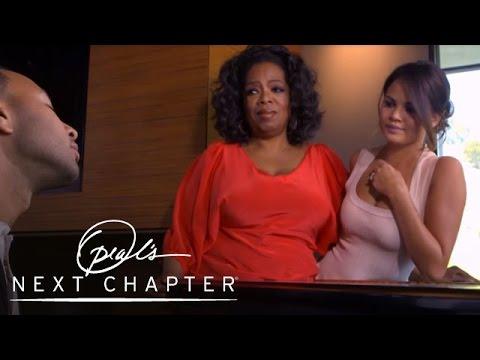 Clip: John Legend sings 'All Of Me' for Oprah Winfrey & wife Chrissy Teigen