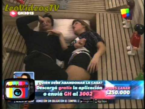 Francisco quiere hacer una porno con Romina en el Sauna GH 2015 #GH2015 #GranHermano
