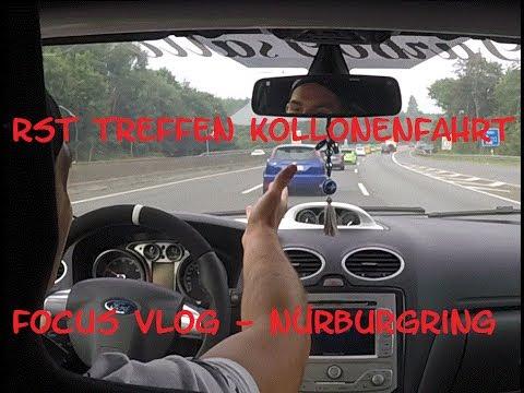 Vlog im RS 8th RST Forum Treffen | Kollonen Fahrt | VLN Nürburgring