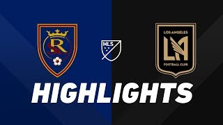 Real Salt Lake vs. LAFC   HIGHLIGHTS - August 17, 2019 by Major League Soccer