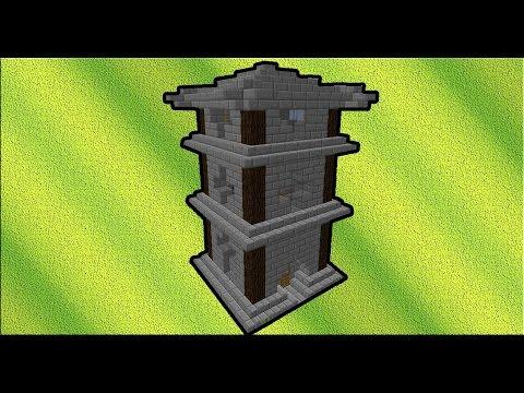 Как в minecraft сделать замок за 5 минут