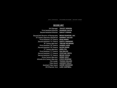 Power Rangers (2017) End credits FIXED