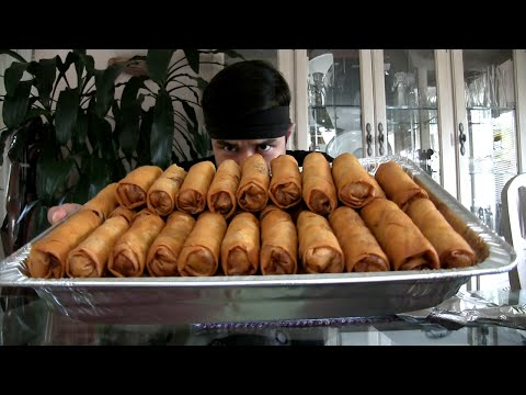 Culinary Hero Scarfs Down 50 Eggrolls In 20