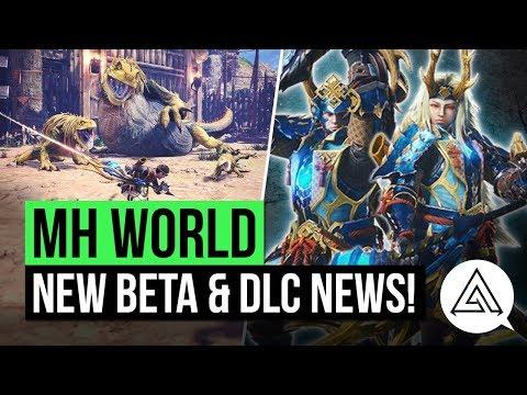Monster Hunter World News   Second Beta Announced, New DLC Details & Special USJ Armor