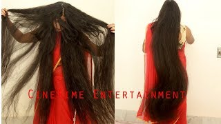 Super Long Hair, Very Thick & Shiny Below Knee Length