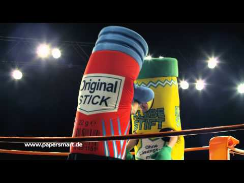 Bei Papersmart fliegen im Boxring medial die Fetzen