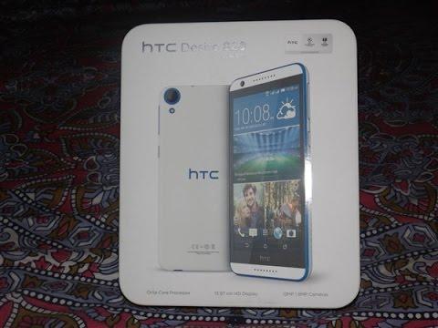 HTC Desire 820  Unboxing  : (4G,octacore,Dual-Sim,8 MP Selfie Camera) : - Fabolous Design