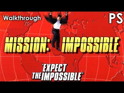 mission impossible playstation 1 walkthrough
