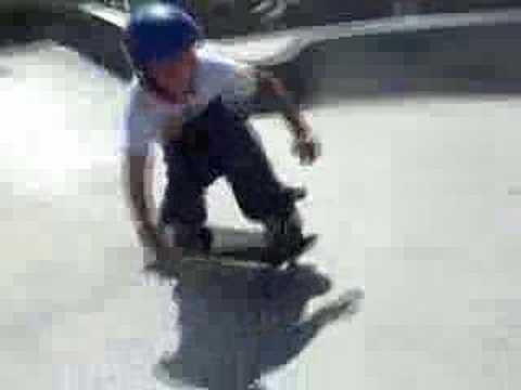 Skateboarding at Reedsport