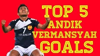 Video Top 5 Andik Vermansyah Goals MP3, 3GP, MP4, WEBM, AVI, FLV Juni 2018