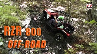 1. 2012 RZR 800 LE Trail Test: 50 Inch Chassis