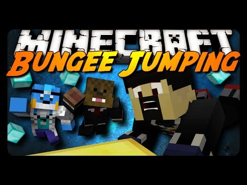 Minecraft: INTENSE BUNGEE JUMPING! (Mini-Game)