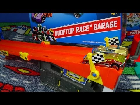 rooftop race garage fold go hot wheels playset download. Black Bedroom Furniture Sets. Home Design Ideas