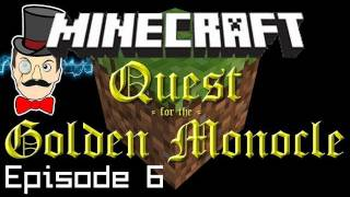 Minecraft Adventure: Grizwald Redstone Keys, Trial of the Ladder! - Quest for Golden Monocle PART 6!