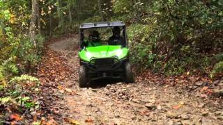 9. The All New 2014 Kawasaki Teryx   Hatfield McCoy Press Intro