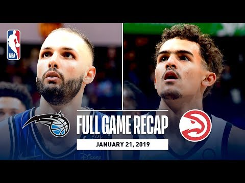 Video: Full Game Recap: Magic vs Hawks | Fournier & Vucevic Combine For 58 Points
