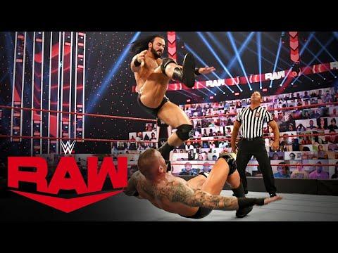 Randy Orton vs  Drew McIntyre – WWE Championship Match  Raw, Nov  16, 2020