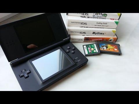 Nintendo DS Lite обзор vs DS FAT