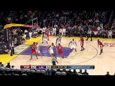 Portland Trail Blazers 80 – Los Angeles Lakers 84